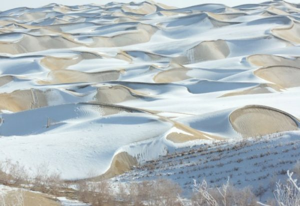 Taklamakan Desert in China