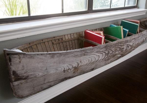 Canoe/Kayak Used to make a book holder