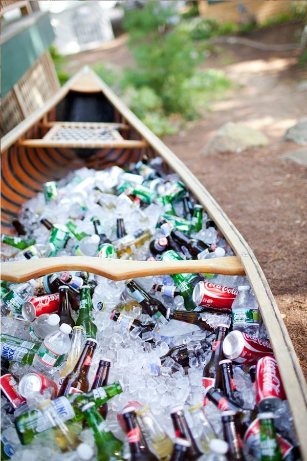 Canoe/Kayak Used to make a drinks cooler