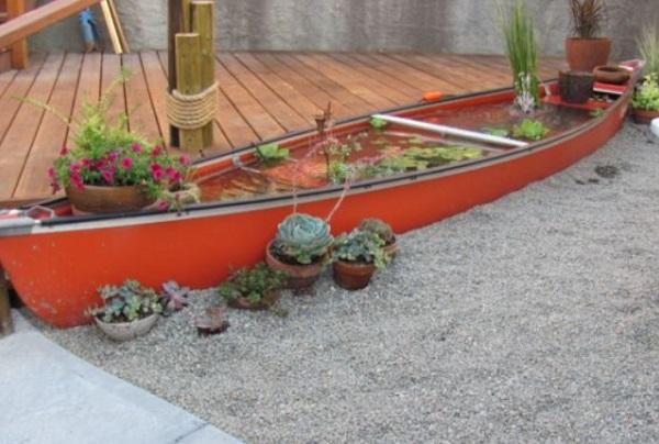 Canoe/Kayak Used to make a pond