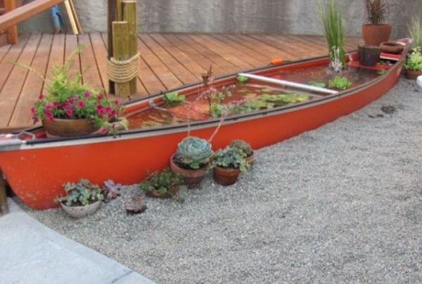 Canoe/Kayak Used to make a pond