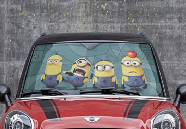 Despicable Me Minions Universal Car Sunshade