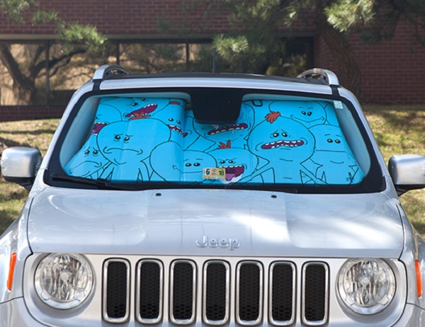 Car Full of Meeseeks (Rick and Morty) Universal Car Sunshade