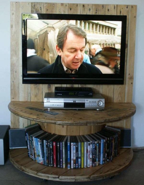 TV Stand & DVD Rack