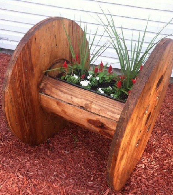Cable Reel Planter