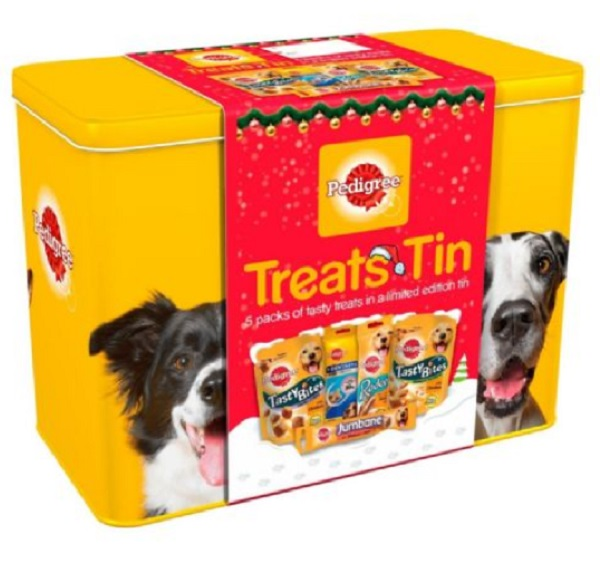 Dog Food Treat Tin