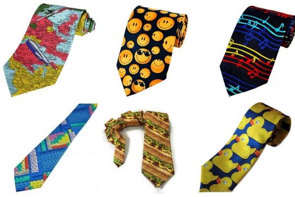 Novelty Tie Gift Idea for a Teacher