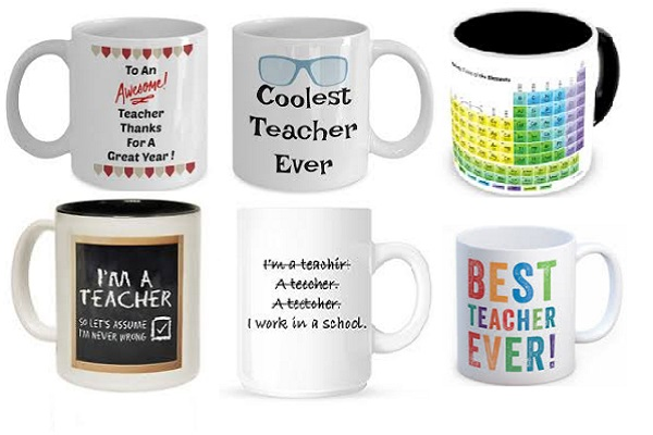 Novelty Mug Gift Idea for a Teacher