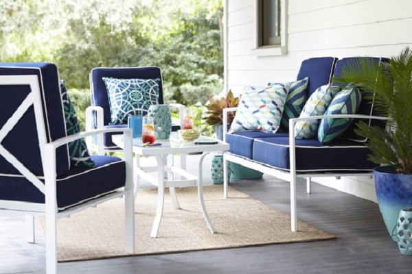 Allen Roth 4 Piece Patio Set