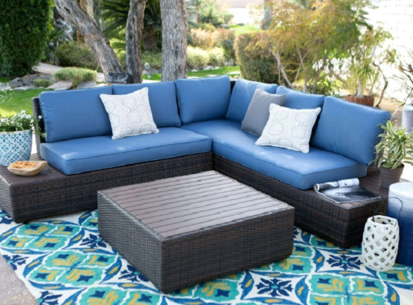 The Houston 3 Piece Rattan Garden Furniture Set