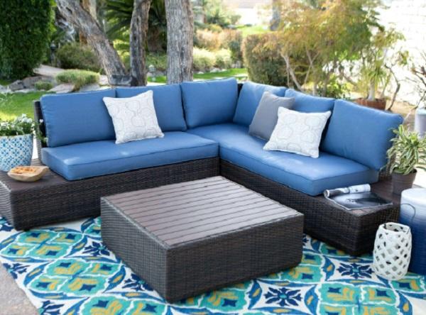 The Houston 3 Piece Rattan Garden Furniture Set