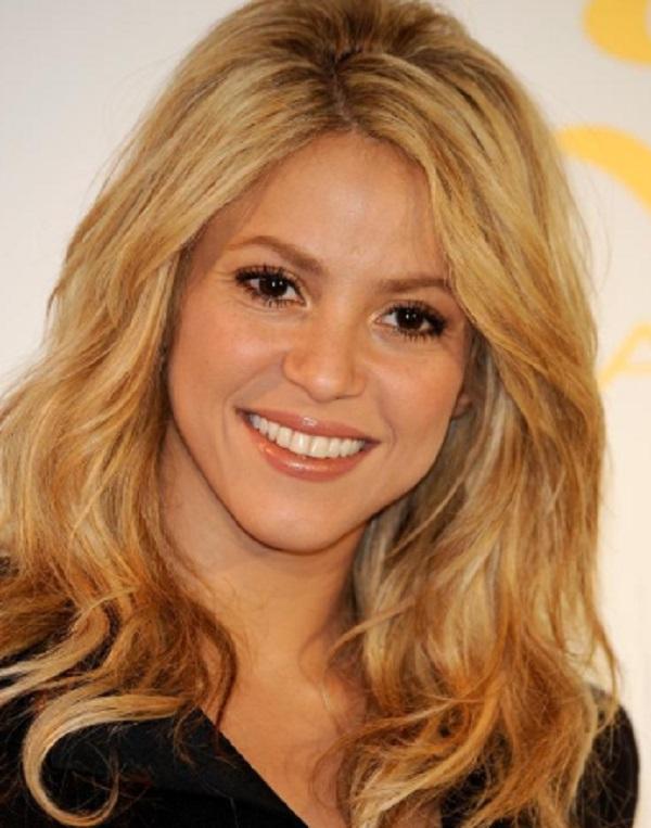 Famous Aquarius Women - Shakira