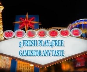 Freebie is Good: 5 Fresh Play4Free Games for Any Taste