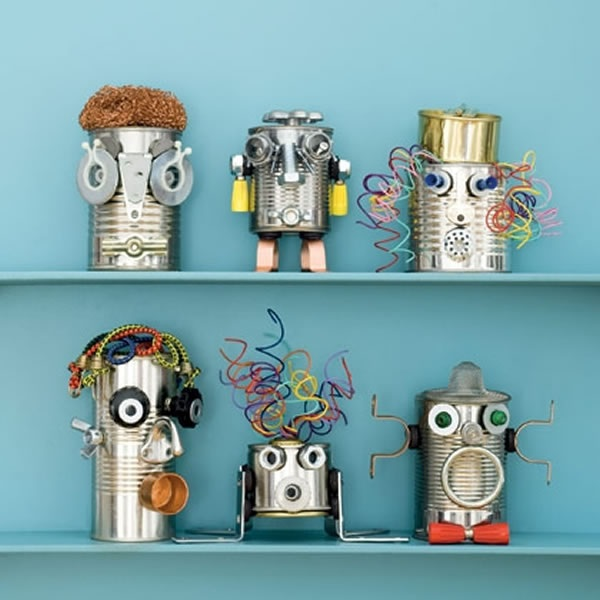 Create Funky Can-Do Robots