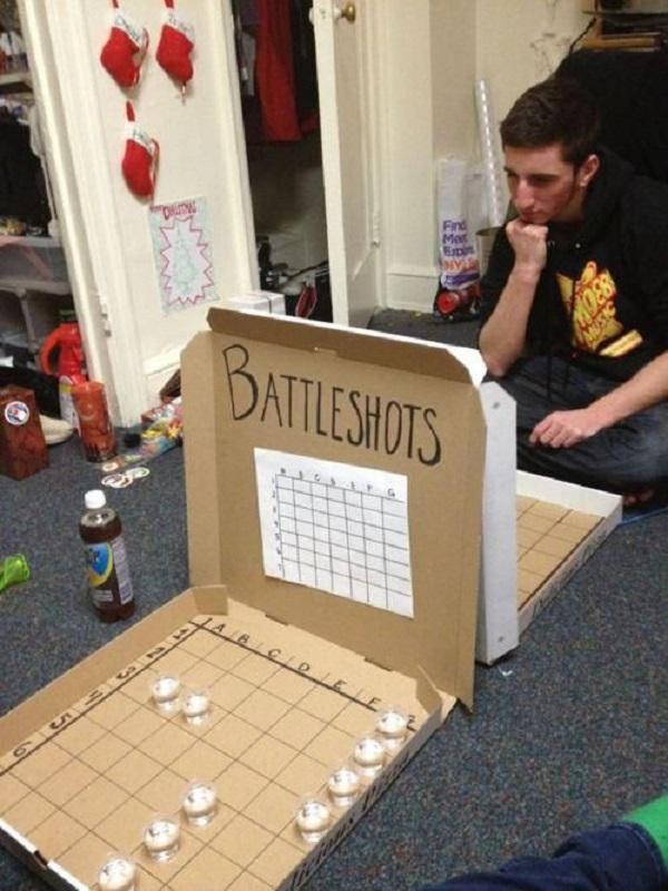 Battle Shots: Pizza Boxes