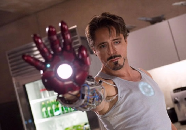 Nicolas Cage as Iron Man