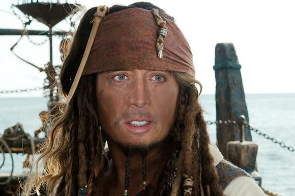 Nicolas Cage as Captain Jack Sparrow