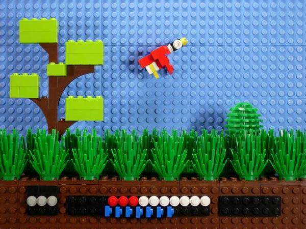 LEGO Duck Hunt Scene (NES)