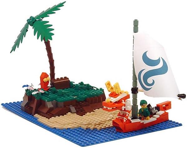 LEGO Zelda Scene (GameCube)