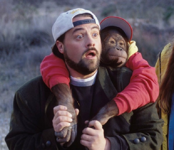 "Kevin Smith in the movie ""Jay and Silent Bob"""