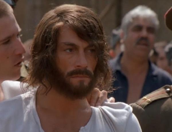 "Jean-Claude Van Damme in the movie ""In Hell"""