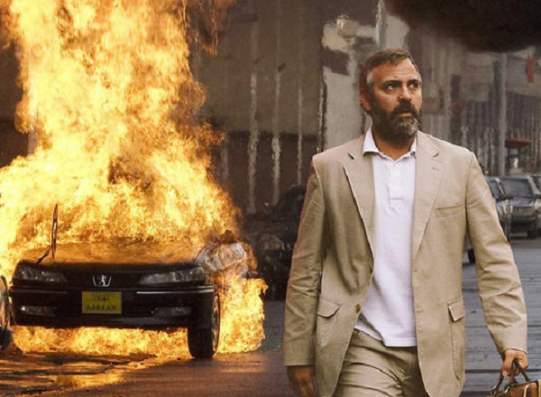 "George Clooney in the movie ""Syriana"""