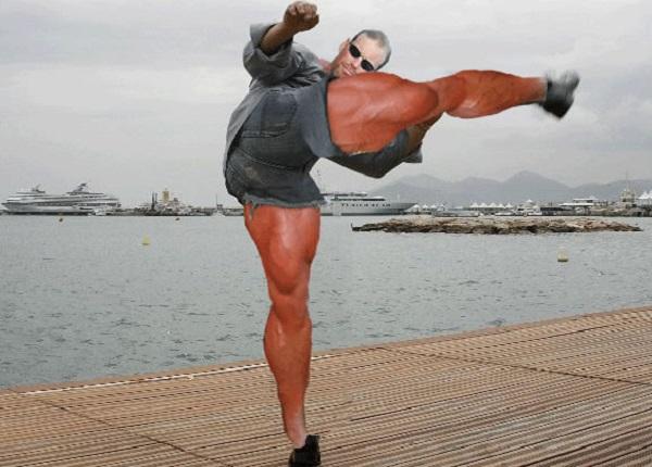 Funny Van Damme Photoshop