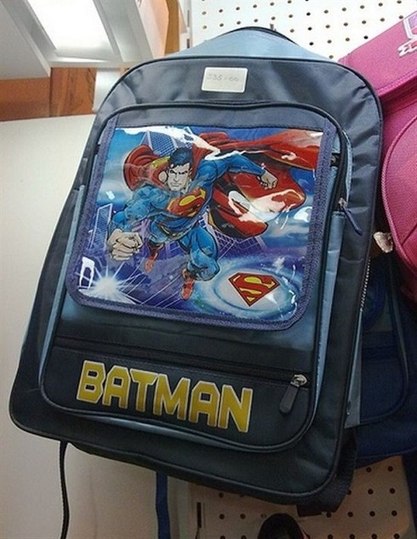 Superman Backpack or Batman Backpack?
