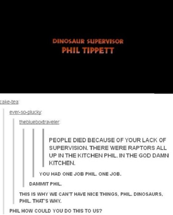 Phil the Dinosaur Supervisor