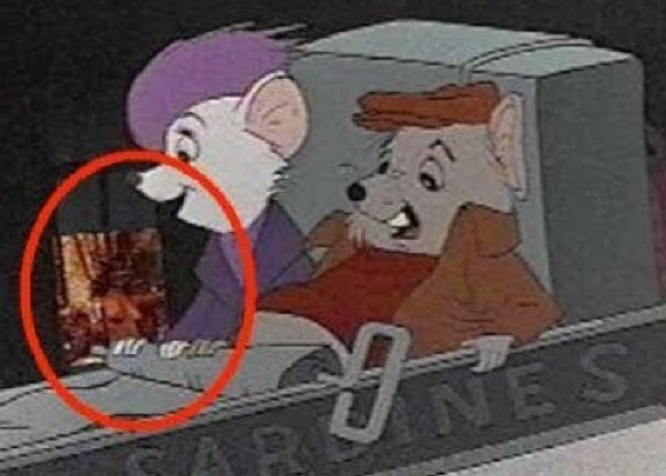 The Rescuers: Naked Woman