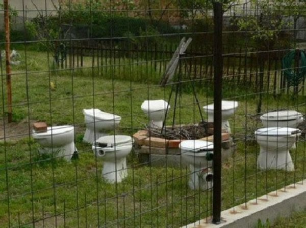 The Toilet Circle Fire Pit