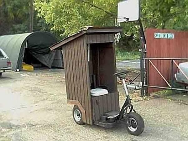 The Toilet Car