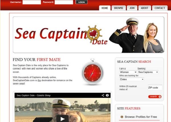 Sea Captain Date