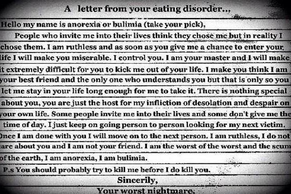 There Are Hundreds Of Categories Of Eating Disorders