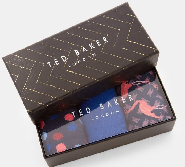 Ted Baker London TINSE Sock Gift Sets (Him)