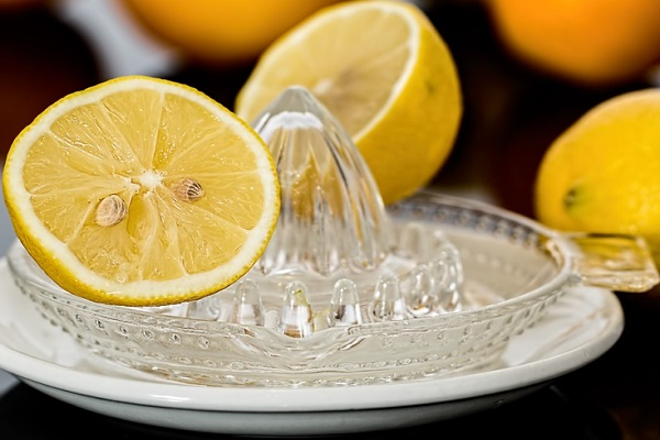 Lemon is also used as a natural way of whitening dark armpits and underarms.