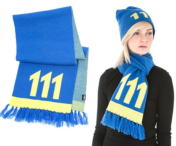 Fallout Vault 111 Knitted Scarf