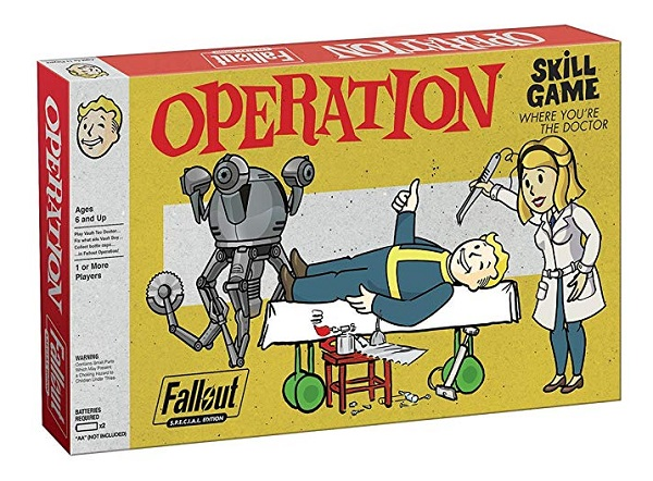 Fallout S.P.E.C.I.A.L. Edition Operation Board Game