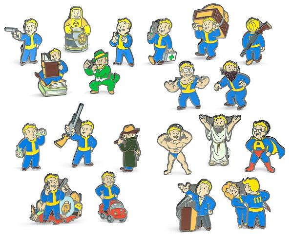 Fallout Enamel Pins