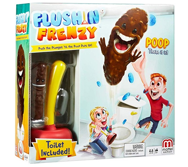Flushin' Frenzy Party Game