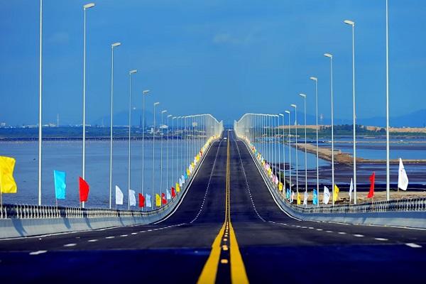 Tan Vu Cầu vượt biển dài nhất - Thanh Trì Bridge