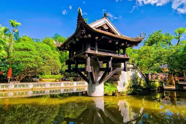 Chùa Một Cột - The One Pillar Pagoda