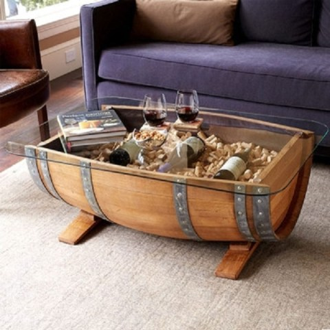 Ten Amazing Coffee Tables Made From Recycled Things