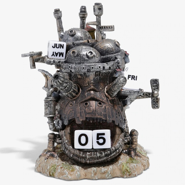 Studio Ghibli Howl's Moving Castle Standing Figural Calendar