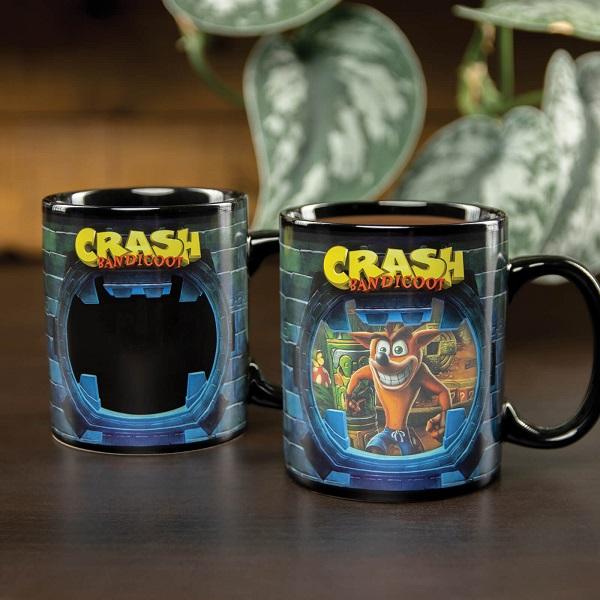 Crash Bandicoot Heat Change Coffee Mug