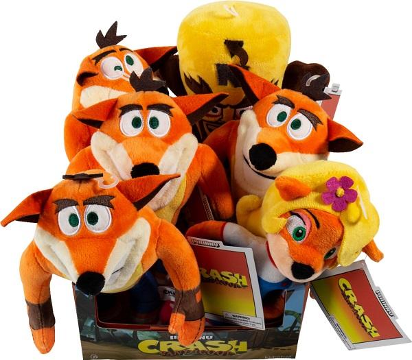 Crash Bandicoot Plushies