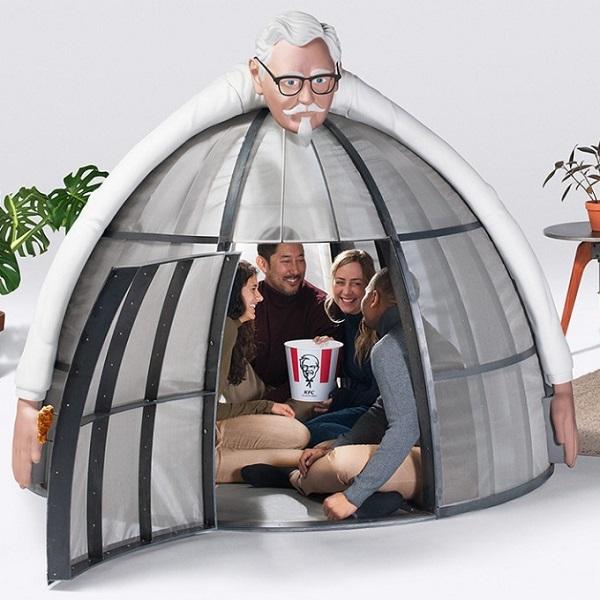 KFC Colonel Sanders Internet Escape Pod