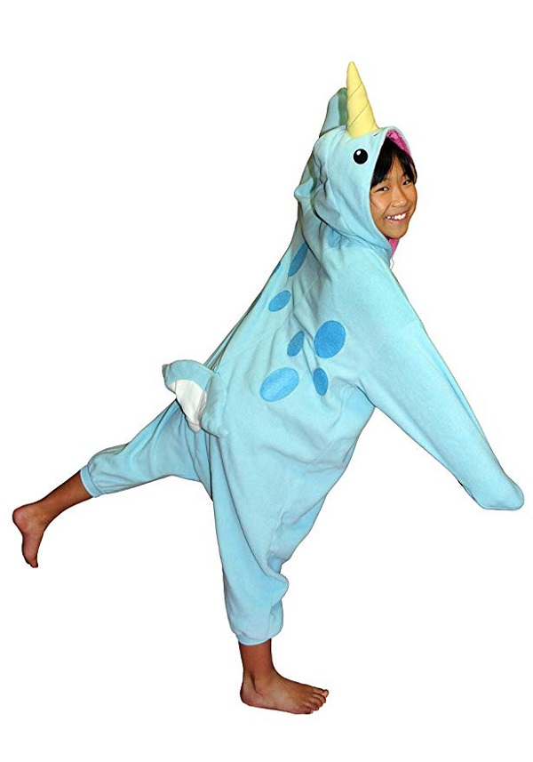 Narwhal Kigurumi All Ages Costume
