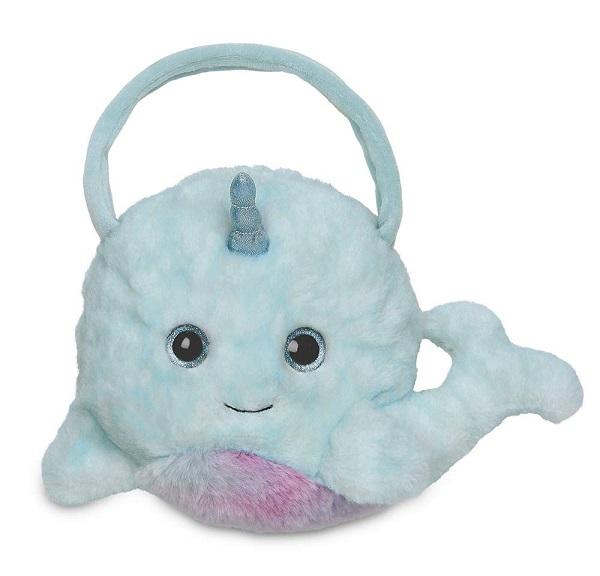 Narwhal Stuffed Animal Handbag