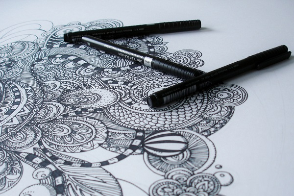 Drawing - a Self Soothing Technique